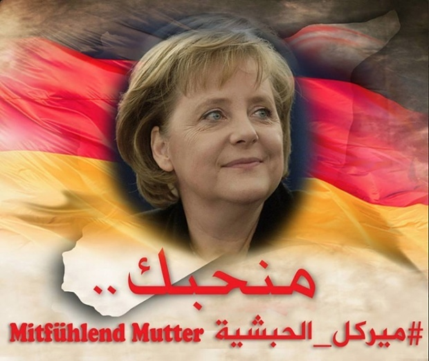 2016-02-21 Compassionate mama Merkel